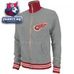 Кофта Детройт Ред Уингз / Detroit Red Wings Grey Mitchell & Ness French Terry Vintage Garment Washed Track Jacket
