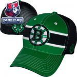 Женская кепка Бостон Брюинз / Boston Bruins Kelly Green/ Black Doherty Stretch Fit Hat