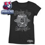 Женская футболка Лос-Анджелес Кингз / Los Angeles Kings Women's 2012 Stanley Cup Champions Blingin It T-Shirt