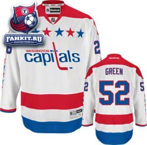 Игровой свитер Вашингтон Кэпиталз Reebok / Mike Green Jersey: Reebok Alternate #52 Washington Capitals Premier Jersey