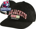 Кепка Коламбус Блю Джекетс / Columbus Blue Jackets Navy Practice Adjustable Hat
