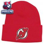 Шапка Нью-Джерси Девилз / New Jersey Devils Red BL Watch Primary Knit Hat