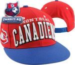Кепка Монреаль Канадиенс / Montreal Canadiens Red Super Star Snapback Hat