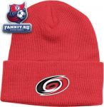 Шапка Каролина Харрикейнз / Carolina Hurricanes Red BL Watch Primary Knit Hat