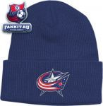 Шапка Коламбус Блю Джекетс / Columbus Blue Jackets BL Watch Primary Knit Hat