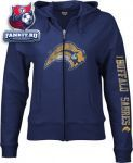 Женская толстовка Баффало Сейбрз / Buffalo Sabres Women's Ginormous Logo Full Zip Hooded Sweatshirt
