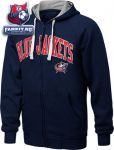 Толстовка Коламбус Блю Джекетс / Columbus Blue Jackets Step One Full-Zip Hooded Sweatshirt