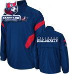 Куртка Коламбус Блю Джекетс / Columbus Blue Jackets Navy Center Ice 1/4 Zip Hot Jacket