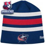 Шапка Коламбус Блю Джекетс / Columbus Blue Jackets Official Team Player Knit Hat