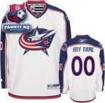 Игровой Свитер Коламбус Блю Джекетс / Columbus Blue Jackets White Premier Jersey: Customizable NHL Jersey