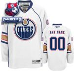Игровой свитер Эдмонтон Ойлерз / Edmonton Oilers White Premier Jersey: Customizable NHL Jersey
