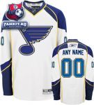 Игровой свитер Сент-Луис Блюз / St. Louis Blues White Premier Jersey: Customizable NHL Jersey