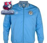 Куртка Манчестер Сити / Manchester City 1350 Classics Ramsey Jacket - Vista Blue / Dark Navy / White
