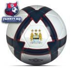 Мяч Манчестер Сити / Manchester City Stealth League Ball - White/Navy/Zinfandel
