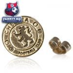 Золотая сережка Челси / Chelsea Crest Stud Earring 9ct Gold - Single