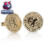 Золотые сережки Челси / Chelsea Crest Stud Earrings 9ct Gold Pair