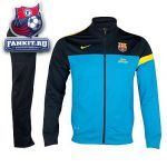 Спортивный костюм Барселона / Barcelona Knitted Warm-up Tracksuit - Dynamic Blue/Dark Obsidian/Tour Yellow