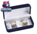 Запонки Манчестер Сити / Manchester City Colour Crest Cufflinks