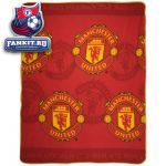 Плед Манчестер Юнайтед / MANCHESTER UNITED CREST FLEECE BLANKET