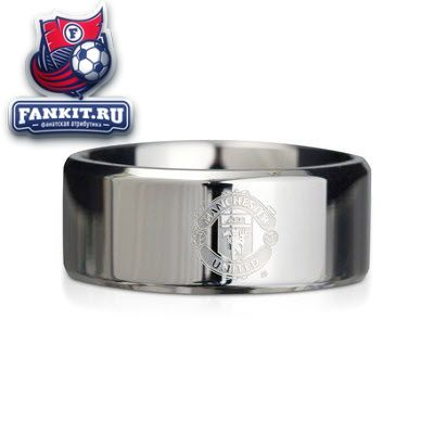 Кольцо манчестер юнайтед серебро