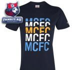 Футболка Манчестер Сити / Manchester City WTC Graphic T-Shirt - Dark Navy