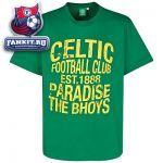 Футболка Селтик / Celtic Essentials Bhoys Paradise T-Shirt - Clover Green