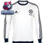 Кофта Челси / adidas Chelsea Training Sweat Top - White/Collegiate Navy/Light Football Gold