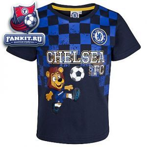 Футболка Челси / Chelsea Check Flag Stamford Graphic T-Shirt.