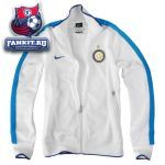 Кофта Интер / Inter white ucl track top 11/12